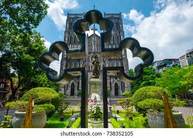 Sep 19, 2017 St. Joseph Cathedral in Nhà Chung, Hàng Tr?ng, Hanoi, Vietnam