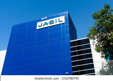 Sep 19, 2019 San Jose / CA / USA - Jabil manufacturing facility in Silicon Valley; Jabil Inc. is an American company providing supply chain and logistic services and design engineering services