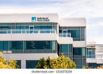 Sep 25, 2019 San Ramon / CA / USA - PG&E (Pacific Gas and Electric Company) headquarters in East San Francisco Bay Area