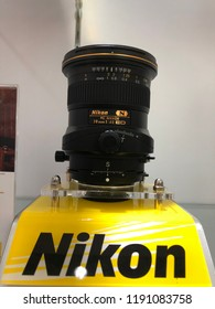 Sep 29/2018 People are visiting NIKON EXPERIENTIAL EVENT at Atrium Plaza Singapura during midday, Singapore