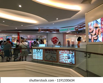 Sep 29/2018 Shops at Plaza Singapura shopping mall during midday, Singapore