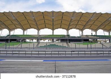 Sepang circuit, Malaysia front view