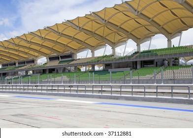 Sepang circuit, Malaysia side view
