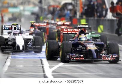 SEPANG MALAYSIA 30 March 2014 Scuderia Toro Rosso Driver Jean A