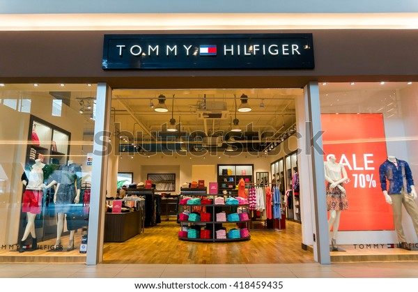 reputable site top fashion outlet store Sepang Malaysia May 8 2016 Tommy Stock Photo (Edit Now ...