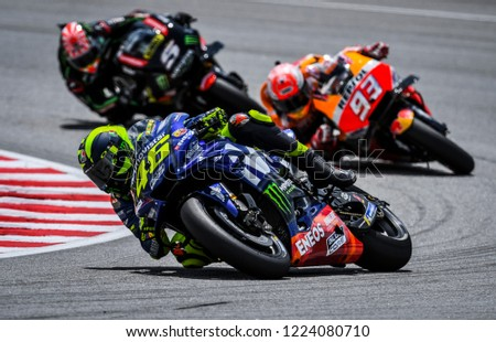 Sepang Malaysia November 04 2018 Valentino Stock Photo Edit Now