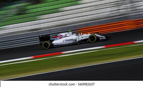 SEPANG, MALAYSIA - SEPTEMBER 30, 2016 : Williams Martini Racing driver, Valtteri Bottas during free practice, 2016 Formula One (F1) Petronas Malaysia Grand Prix.