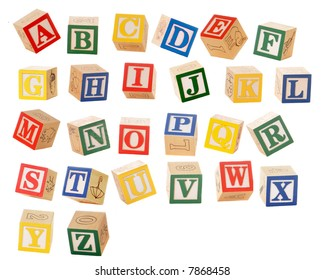 Royalty Free Alphabet Blocks Images Stock Photos Vectors