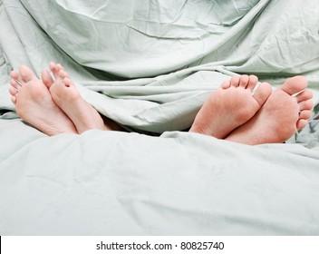 Separation in bed before divorce