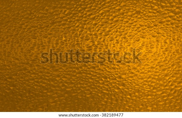 Sepia Gold Yellow Stained Glass Window Stock Photo (Edit