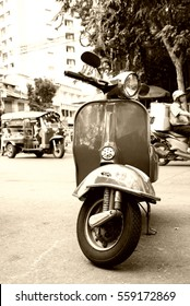 sepia motorcycle