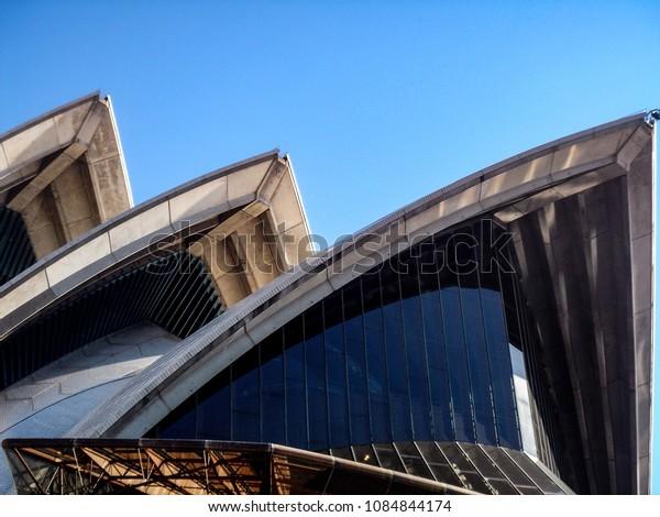 Sept 1, 2010 - Sydney, Australia: The sails of the Sydney Opera House