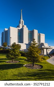 Sept. 29 2015 - Calgary Alberta: The Church of Jesus Christ of Latter-day Saints, Calgary Alberta, Canada, Temple