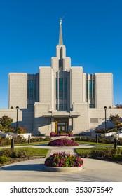 Sept. 29, 2015 - Calgary Alberta:The Church of Jesus Christ of Latter-day Saints, Calgary Alberta, Canada, Temple