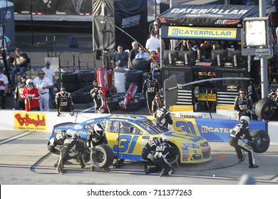 September 03, 2017 - Darlington, South Carolina, USA: Ryan Newman (31) comes down pit road for service during the Bojangles' Southern 500 at Darlington Raceway in Darlington, South Carolina.
