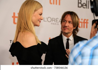 SEPTEMBER 08,2017 - TORONTO, ON - Nicole Kidman and Keith Urban attend 'The Upside' premiere at the 2017 Toronto International Film Festival.