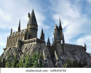 September 1, 2019: Hogwarts School of Witchcraft and Wizardry in Universal Studios Japan. - Osaka, Japan