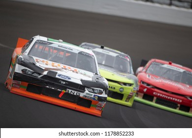 September 10, 2018 - Indianapolis, Indiana, USA:Chase Briscoe (60) races down the front stretch for the Lilly Diabetes 250 at Indianapolis Motor Speedway in Indianapolis, Indiana.
