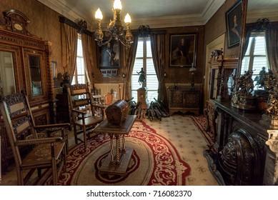 SEPTEMBER 10th 2017, SOESTDIJK, THE NETHERLANDS - Inside the royal palace, Soestdijk, The Netherlands
