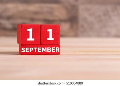SEPTEMBER 11 CALENDER DAY