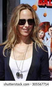 "September 12, 2009. Kim Raver at the Los Angeles premiere of ""Cloudy With A Chance Of Meatballs"" held at the Mann Village Theater, Los Angeles."