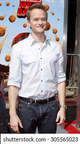 """September 12, 2009. Neil Patrick Harris at the Los Angeles premiere of """"Cloudy With A Chance Of Meatballs"""" held at the Mann Village Theater, Los Angeles."""