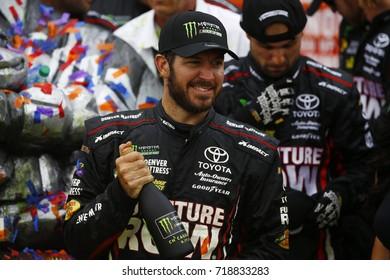 September 17, 2017 - Joliet, Illinois, USA: Martin Truex Jr (78) wins the Tales of the Turtles 400 at Chicagoland Speedway in Joliet, Illinois.