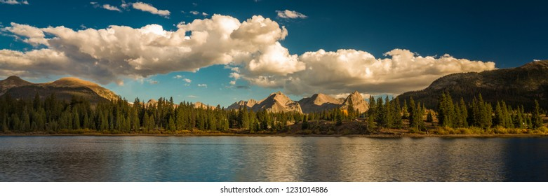 SEPTEMBER 18, 2018 - COLORADO, USA, Molas Lake, South of Silverton, Route 550