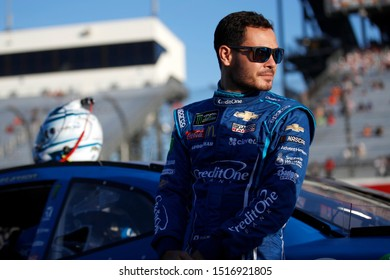 September 20, 2019 - Richmond, Virginia, USA: Kyle Larson (42) gets ready to qualify for the Federated Auto Parts 400 at Richmond Raceway in Richmond, Virginia.
