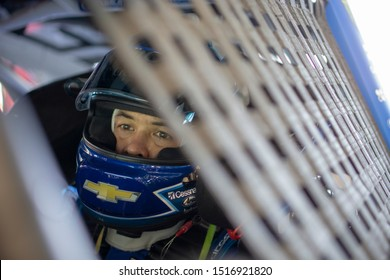 September 20, 2019 - Richmond, Virginia, USA: Kyle Larson (42) takes to the track to practice for the Federated Auto Parts 400 at Richmond Raceway in Richmond, Virginia.
