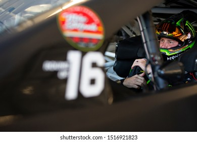 September 20, 2019 - Richmond, Virginia, USA: Kurt Busch (1) gets ready to practice for the Federated Auto Parts 400 at Richmond Raceway in Richmond, Virginia.