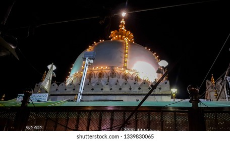 September 2015 khwaja moinuddin chishti dargah sarif in Ajmer, Rajasthan, India. september 2015