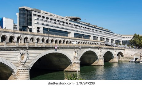 September 2016 - Paris, france - Seat of the Ministry of the Economy and Finance at Bercy