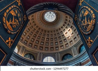 September 2017 - Vatican city, Vatican - Architecture inside the Vatican museum