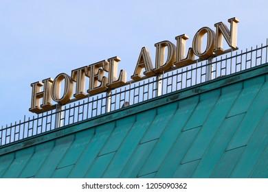 SEPTEMBER 2018 - BERLIN: Hotel Adlon, Berlin-Mitte.