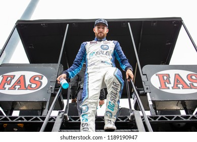 September 21, 2018 - Richmond, Virginia, USA: Ross Chastain (42) gets ready to practice for the Go Bowling 250 at Richmond Raceway in Richmond, Virginia.