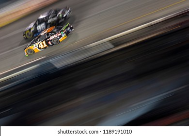 September 22, 2018 - Richmond, Virginia, USA: Kurt Busch (41) races off the front stretch during the Federated Auto Parts 400 at Richmond Raceway in Richmond, Virginia.