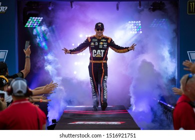 September 22, 2019 - Richmond, Virginia, USA: Daniel Hemric (8) gets introduced for the Federated Auto Parts 400 at Richmond Raceway in Richmond, Virginia.