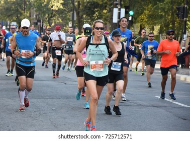 September 24th, 2017 - Montreal, Canada. Montreal OASIS Rock'n'Roll Marathon/Half-Marathon Events in the streets of Montreal and surrounding areas
