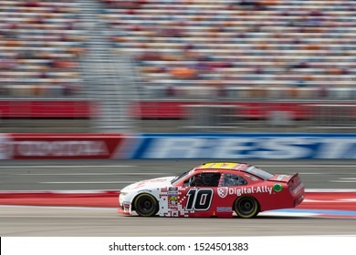 September 28, 2019 - Concord, North Carolina, USA: AJ Allmendinger (10) races down the front stretch during  the Drive for the Cure 250 presented by Blue Cross Blue Shield of North Carolina
