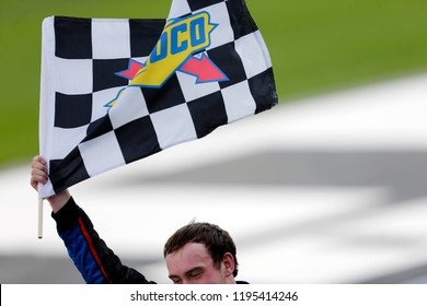 September 29, 2018 - Concord, North Carolina, USA: Chase Briscoe (98) wins the Drive for the Cure 200 at Charlotte Motor Speedway in Concord, North Carolina.