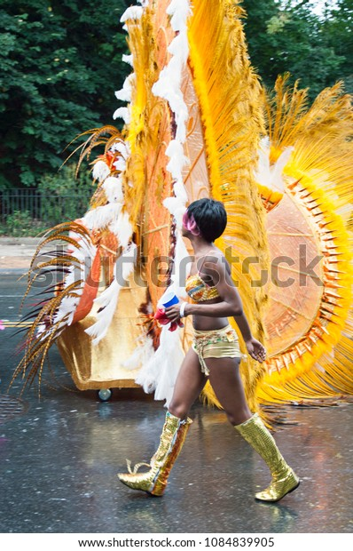 September 3 2013, West Indian Labor Day parade carnival in Brooklyn, New York City, Usa