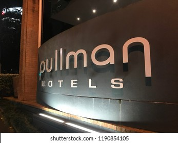 September 4, 2018, Auckland, New Zealand: Pullman Hotels and Resorts is an upscale international hotel brand owned by AccorHotels. Pullman has over 117 hotels and resorts in 33 countries.
