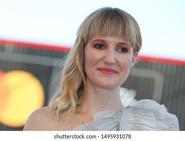 September 4, 2019, Venice, Italy. The 76th Venice Film Festival  at the Lido in Venice, Italy. Redcarpet for the screening of Babyteeth with actress Shannon Murphy
