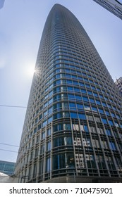 September 5, 2017 San Francisco/CA/USA - The new Salesforce tower is the tallest building in San Francisco