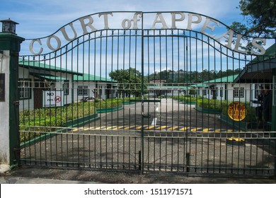 SEPTEMBER 7, 2019-BAGUIO CITY PHILIPPINES : Court of Appeals of Baguio City in the Philippines. Republic of the Philippines government offices and buildings.