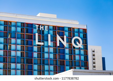 September 8. 2018. The LINQ Hotel & Casino. Las Vegas, Nevada, USA.