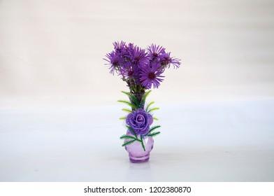 September (Astra virgin) in a vase