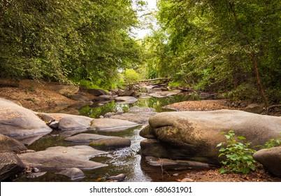 September Stream, James River, Richmond Virginia
