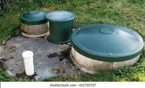 Septic tank waste system